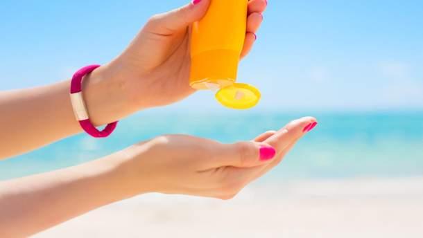 Використання сонцезахисних кремів може сприяти поширенню раку