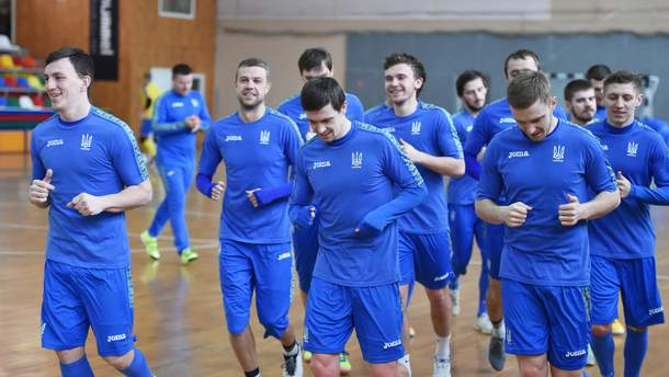 Мужская сборная Украины по футзалу