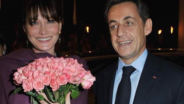Карла Бруні та Ніколя Саркозі