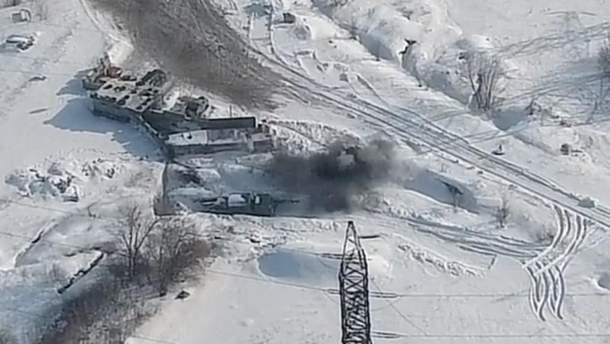 Бойцы ВСУ уничтожили позицию боевиков на Донбассе
