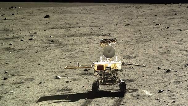 Chang'e 4 на Місяці
