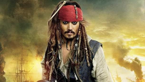 """Джонни Депп больше не будет играть роль Джека Воробья в """"Пиратах Карибского моря"""""""