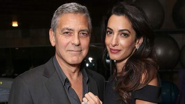 Джордж и Амаль Клуни живут отдельно
