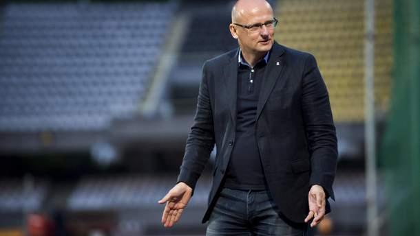 Вальдас Урбонас возглавил сборную Литвы