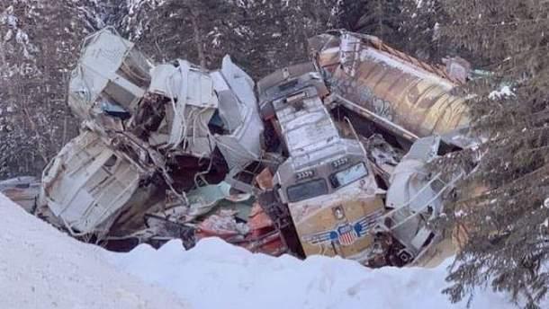 Аварія потяга в Канаді