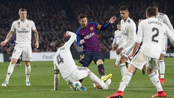 Барселона - Реал: видео голов, обзор матча Кубок Испании 2018/19