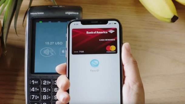 Послуга Apple Pay доступна для клієнтів UkrSibbank