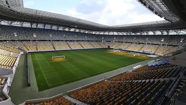 Сборная Украины сыграет два матча во Львове