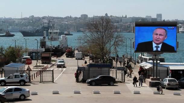 В Росії кажуть про візит великої делегації європейських політиків в окупований Крим у квітні