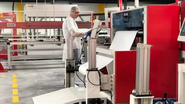 Новый завод по изготовлению солнечных панелей в Виннице