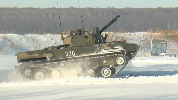 Українські військові  знищили бойову машину окупантів разом із екіпажем (ілюстративне фото)