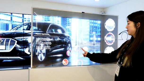 LG показала інноваційні дисплеї на виставці  ISE 2019