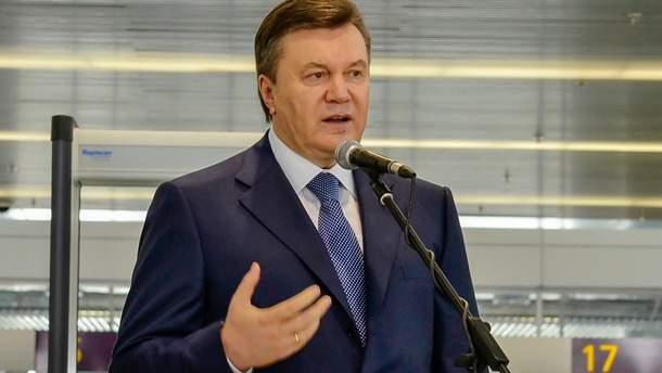 Янукович розповів про своє перебування у Росії