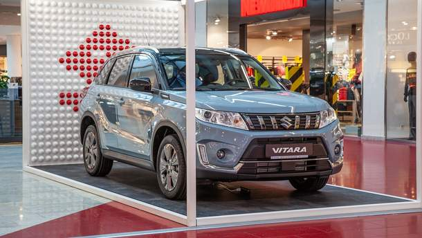 Suzuki презентував оновлений бестселер Vitara в Україні