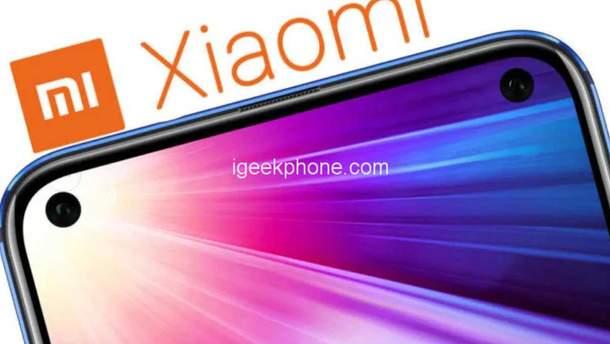 Смартфон Xiaomi з дірявим екраном готують до випуску