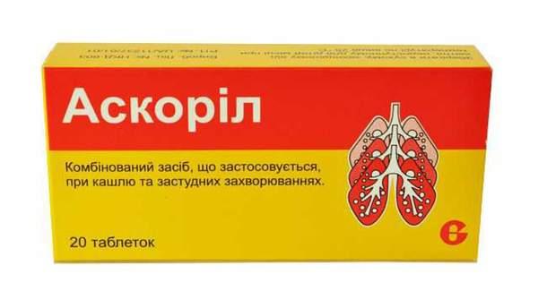 Запрет лекарств в Украине 2019 - Аскорил запретили