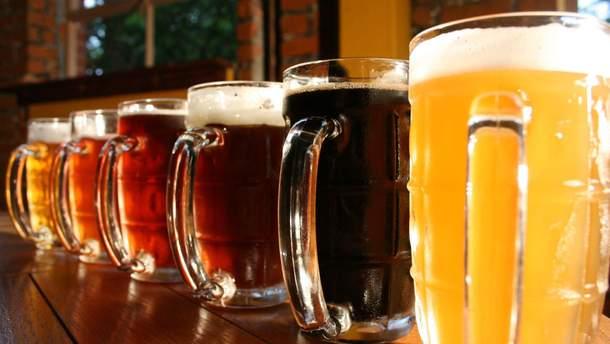Пиво чаще всего вызывает алкогольную зависимость