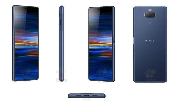 Sony Xperia XA3: рендерские фото