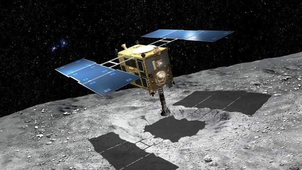 Аппарат Hayabusa 2 готовят к посадке на астероид Рюгу
