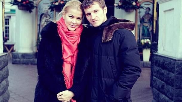 Олександр Алієв з колишньою дружиною Тетяною