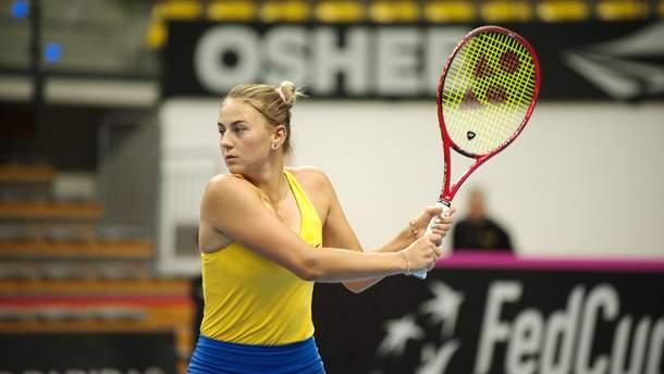 Марта Костюк здобула перемогу на Кубку Федерації
