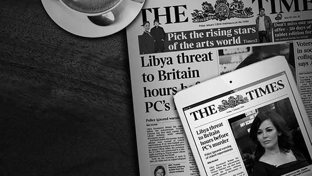 Журналісти The Times допустили грубу помилку про війну в Україні