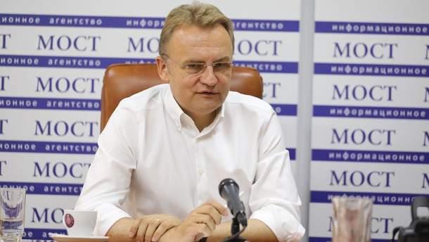 Садовый объяснил, почему обнародовал соглашение Порошенко