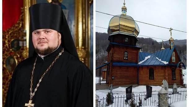 Владика Варсонофій попередив, що УПЦ МП спробує повернути собі храм ПЦУ на Закарпатті