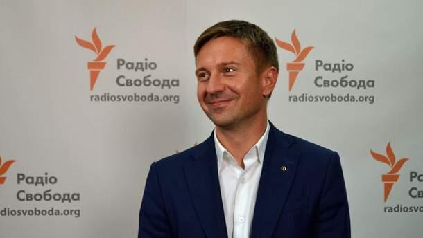 Кандидат в президенты Украины Александр Данилюк