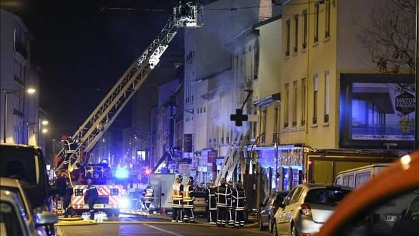 Во французском городке прогремел взрыв