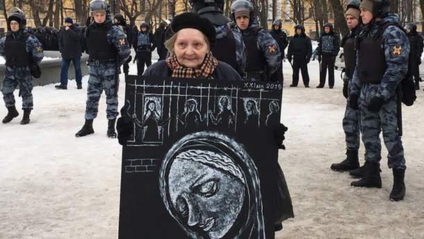 """В России прошел """"Марш материнского гнева"""""""