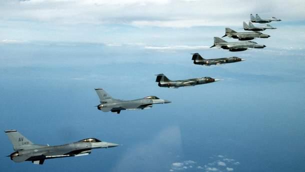 Истребители НАТО будут летать в небе над Эстонией