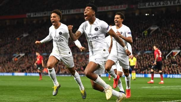 Манчестер Юнайтед - ПСЖ: відео голів, огляд матчу Ліги чемпіонів