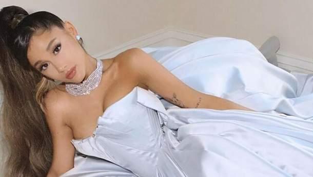 Гранде бойкотировала Грэмми-2019: ее платье на церемонию