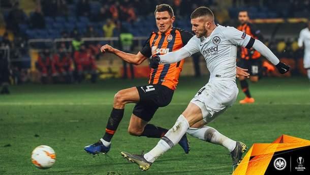 Шахтер - Айнтрахт: обзор матча Лиги Европы 2018/2019