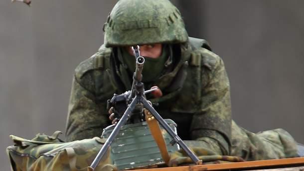 Боевики заявили о взятии в плен украинского военного