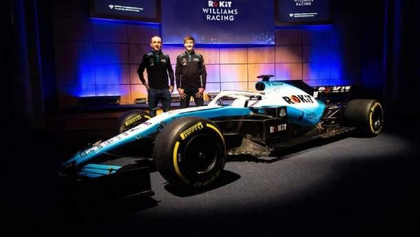 Williams представила новый болид для Формулы-1