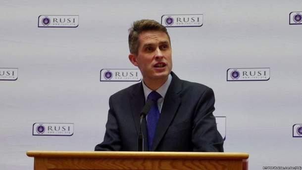 Міністр оборони Великобританії впевнений, що Росія хоче захопити Україну
