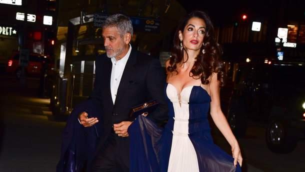 Джордж та Амаль Клуні 5 грудня 2018 року