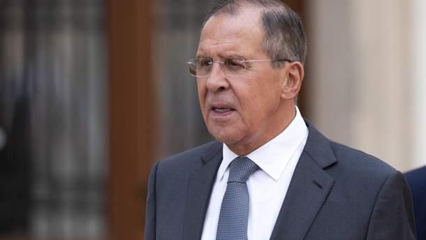 Лавров назвал бесперспективным требование ЕС выполнить минские соглашения