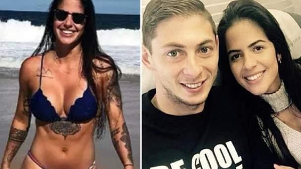 Еміліано Сала зі своєю дівчиною