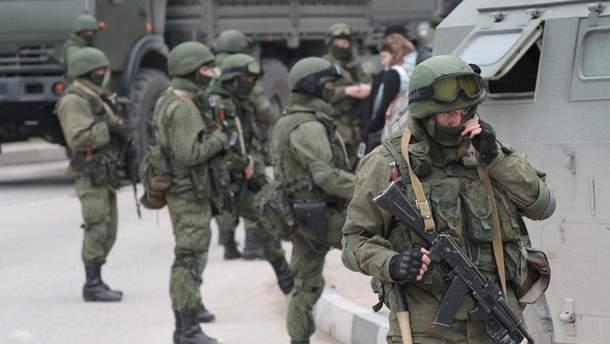 В оккупированном Крыму снова проходят военные учения