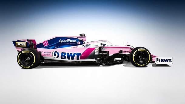 Команда Формулы-1 сменила название и представила новый болид: фото