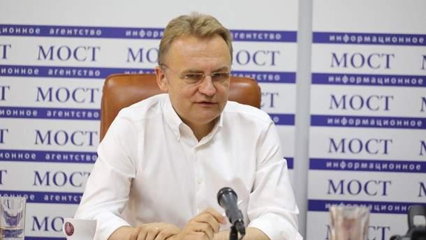Андрій Садовий відреагував на відсторонення Супрун