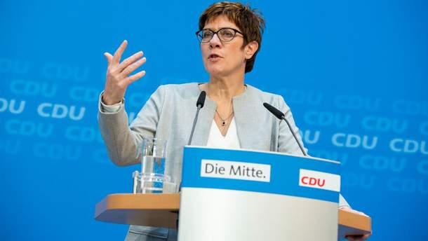 Преемница Меркель сделала главное объявление по«Северному потоку-2»