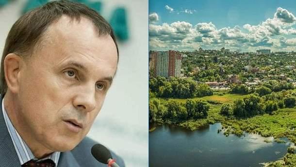 Суд заборонив забудову на Совських ставках