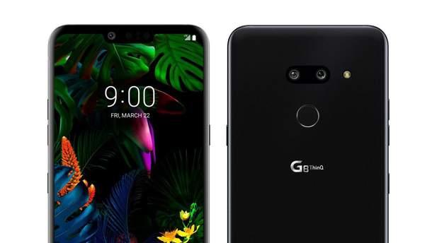 Рендери смартфона LG G8 ThinQ