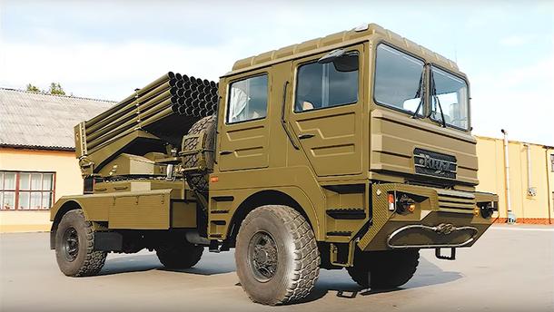 """Українці модернізували ракетний комплекс, який замінить радянський """"Град"""": вражаюче відео"""