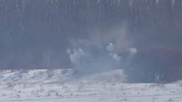Українські військові знищили вогневу точку окупантів на Донбасі