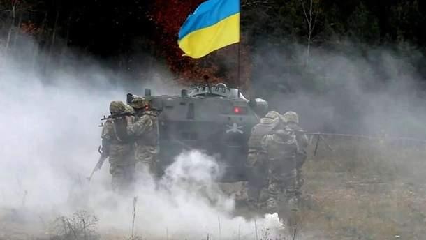 Три військові ЗСУ отримали поранення на Донбасі